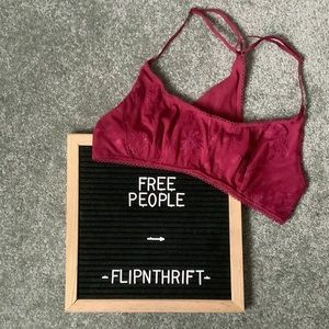 🆕LISTING 🏷NWT FREE PEOPLE So Into You Bralette